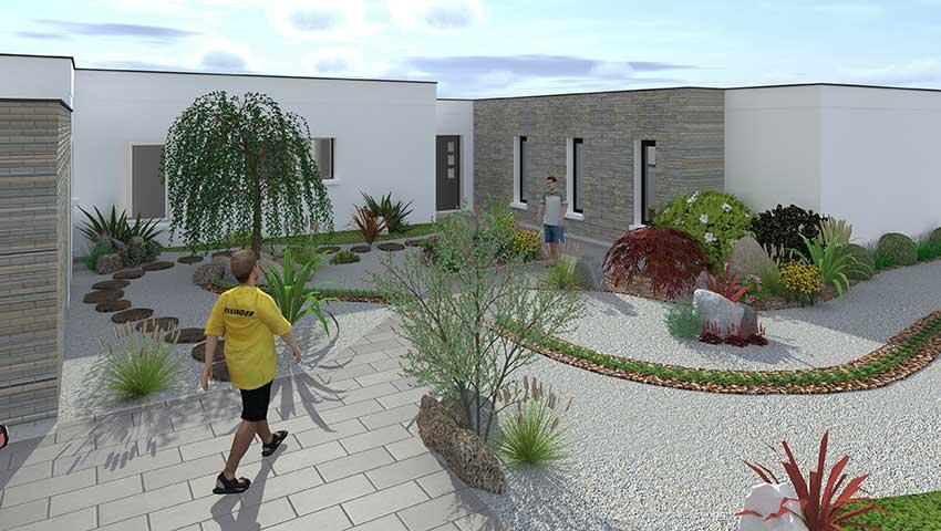 De particulier for Architecte jardin 3d gratuit